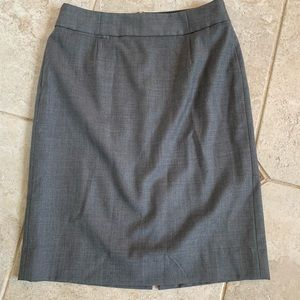 Jcrew Skirt Size 4 Super 120's premium wool